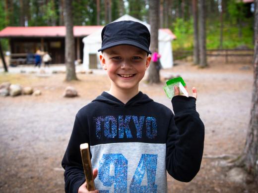 Maanantai - ekana kokonaisena leiripäivänä pelastettiin Kiljava!