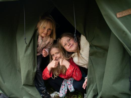 Uusi leiri, sirkus ja viikinkejä Kiljavalla!