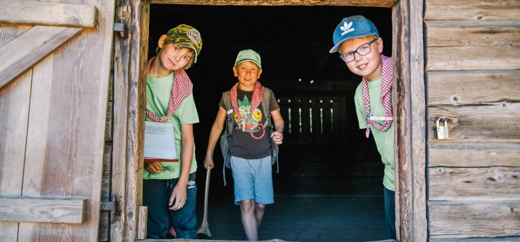 Scouternas dagsläger