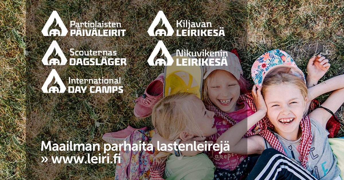 Kesäleirit 2019 nyt julkaistu - ilmoittautuminen alkaa ti 8.1.2019 klo 12.00
